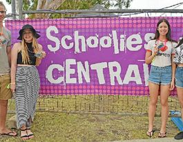 Airlie schoolies enjoy sensational party fun