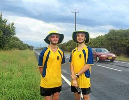 The duo giving schoolies a good name