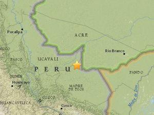 Powerful 7.5 magnitude quake in Peru