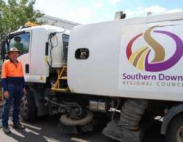 Street sweeping matters on Southern Downs: council