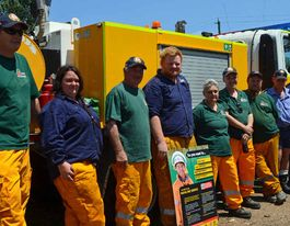 Firies gearing up for a long hot summer
