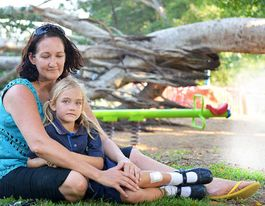 PARK HORROR: Mum pinned by falling tree in playground