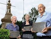 BUNDAMBA'S First World War heroes are long dead, but the children who grew up wondering what their fathers experienced are making sure they are never forgotten.