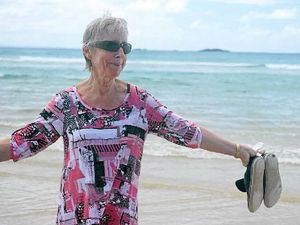 REMEMBERED FONDLY: Lois McDougall at her favourite place.