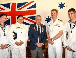Ex-serviceman honoured 40 years on