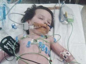 Malaki Bower pictured. Kim Wright and William Bower lost their son Malaki 2 years ago from Croup