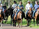Some of the many people who took part in a previous Kilkivan's Great Horse Ride.