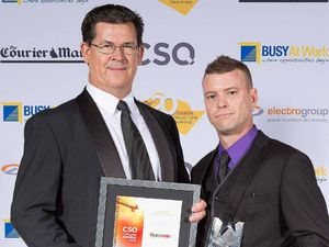 Ipswich trainer comes out on top at state awards