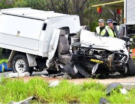 Horror crash leaves one dead and 3 critical