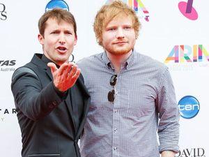 James Blunt tells Ed Sheeran he's got herpes