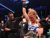 HOLLY Holm says she would beat Ronda Rousey 10 times out of 10.