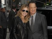 TOM Hanks has opened up about his wife's cancer recovery and said life simply came to a halt, when the disease struck Rita Wilson last year.