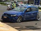 Driver crashes into IGA wall in Kingaroy