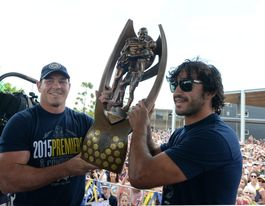 NRL Premiership trophy lands in Rockhampton today
