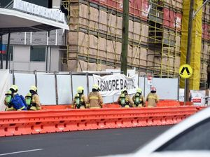 Five babies and mums amongst evacuees from hospital collapse