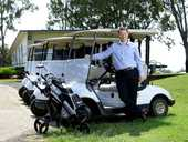 BEING named captain of an Australian PGA golf team is a huge honour well suited to Ipswich Country Club manager Darren Richards.
