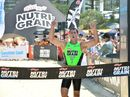 Shannon Eckstein wins rounds one and two of the Nutri-Grain Ironman Series at Coolum Beach.