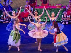 Toowoomba School of Dance A Christmas Wish performance at the Empire Theatre.