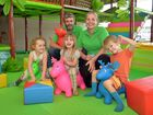 Indoor playground means fun for kids and relief for parents