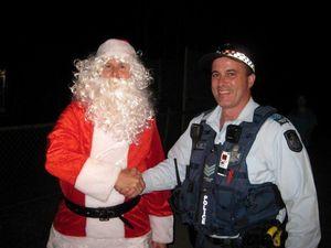 Santa Claus spotted early at Meringandan State School