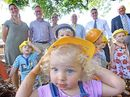 CLUBS NSW came to the rescue of Alstonville Community Preschool yesterday donating $32,000 needed to finish the new premises so it can open next year.