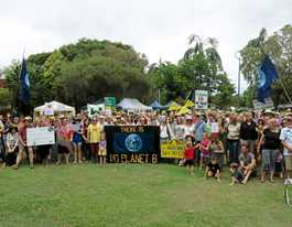 Hundreds turn out for Murwillumbah climate rally