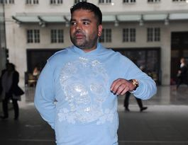 Naughty Boy used to taxi his mum's food to work