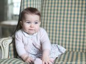 TWO stunning images of Princess Charlotte have been released by Kensington Palace overnight, both taken by her mother the Duchess of Cambridge.
