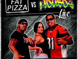 The fully sickest delivery guys from Fat Pizza clash with the Housos of Sunnyvale.