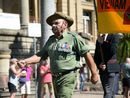Harry Mimi has been a colourful figure around town for many years and a passionate advocate for Vietnam Veterans.