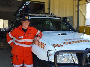 SES Volunteer Amanda Snell at the Biloela SES headquarters. Photo Andrew Thorpe / Central Telegraph