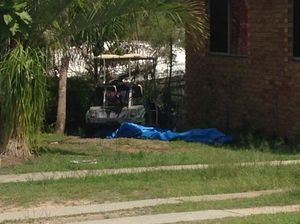 One golf buggy has been found at a home on Hampton Dr in Tannum Sands. Photo Contributed
