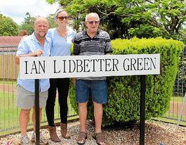 Alstonville club names green after former greenkeeper