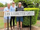 ALSTONVILLE Plateau Bowls and Sports Club celebrated former greenkeeper Ian Lidbetter with the renaming of its main green on Saturday.