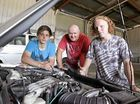 A SHED in Noosaville contains almost a dozen cars in varying states of repair – but this is not a mechanic's workshop.