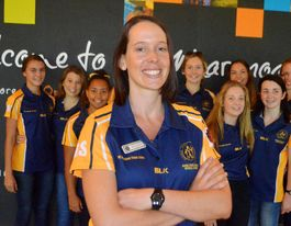 Roma State College netball squad off to NZ