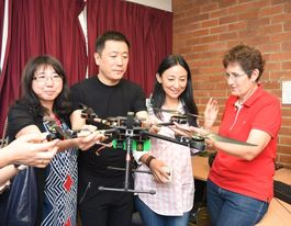 UQ Gatton drone technology demonstrated to Chinese students