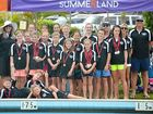 INSTANT SUCCESS: The Summerland Racing Swim Team.