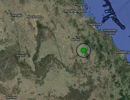 3.2 magnitude earthquake near Monto