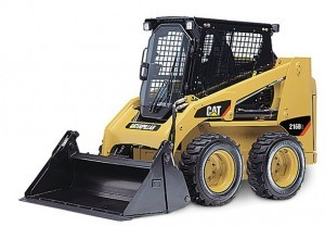 Toowoomba Police need help locating a stolen Caterpillar Bobcat Model 216B Skid Loader.