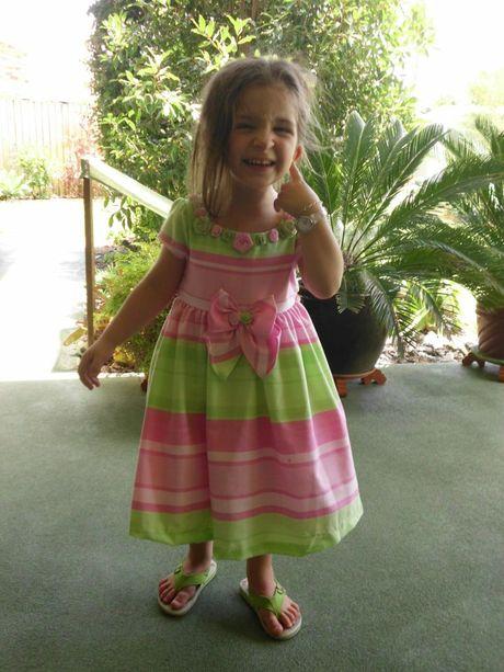 Anthony&squot;s daughter Matilda, 4.
