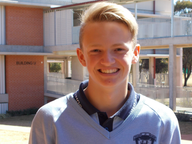 YEAR 11 student Callum Tucker already knows how he's going to spend a big chunk of his Christmas holidays this year.