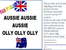 Olly Murs Brisbane Fan Project