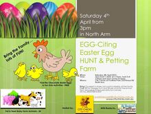 EGG-Citing Easter Egg Hunt & Petting Farm