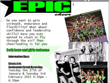 Epic Cheer Information Days