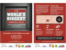 World's Biggest Garage Sale 2015 Donation Days