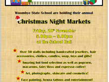 Woombye State School Christmas Night Market