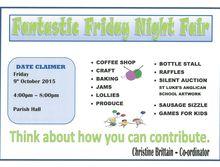 Anglican Parish - Fantastic Friday Night Fair
