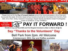 Say Thanks to the Volunteers Day