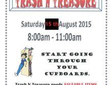 Anglican Parish - Trash 'n Treasure